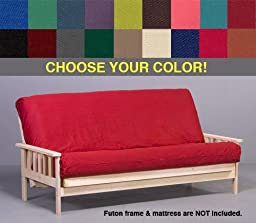 Hunter Green Premium Futon Cover - Queen Size