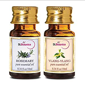 StBotanica St.Botanica Rosemary + Ylang Ylang Pure Essential Oil