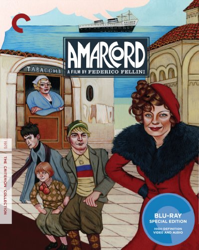 Cover art for  Amarcord (The Criterion Collection) [Blu-ray]
