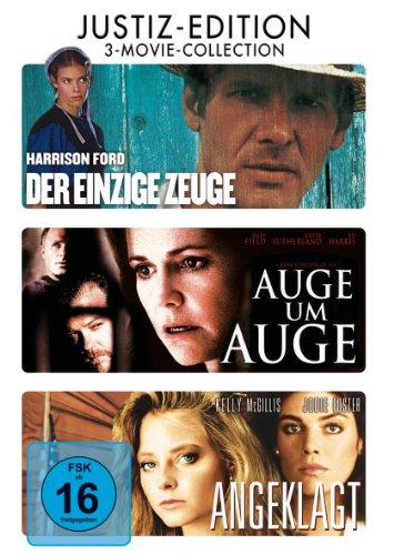 Der Einzige Zeuge / Auge Um Auge / Angeklagt [3 DVDs]
