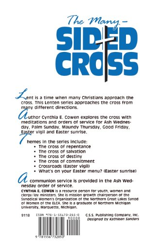 The Many Sided Cross: Sermons and Orders of Service for Lent