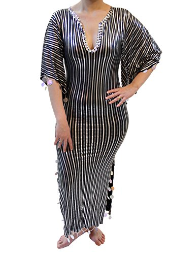 EgyptianSouvenirsGifts Women's Belly Dance Abaya Galabeya Baladi Saidi