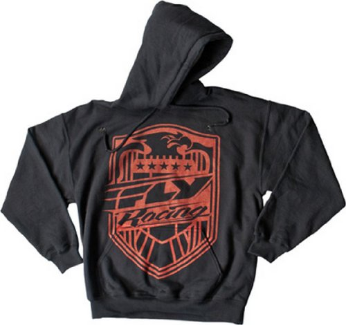 Fly Racing Squad Hoody , Size: Xl, Distinct Name: Black, Primary Color: Black, Gender: Mens/Unisex 354-0090X