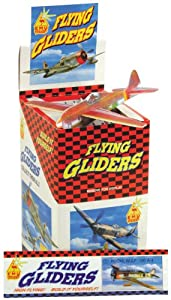 Party Bag Toys : 6 x Polystyrene flying glider planes [Toy]