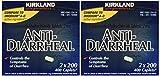 Anti-Diarrheal Loperamide Hydrochloride 2 Milligram 800 Caplets Total (Pack of 4)