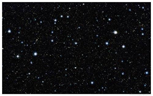 """Astronomy Poster - Eso - Eso1213A - Vista Stares Deep Into The Cosmos - 24""""X16"""""""