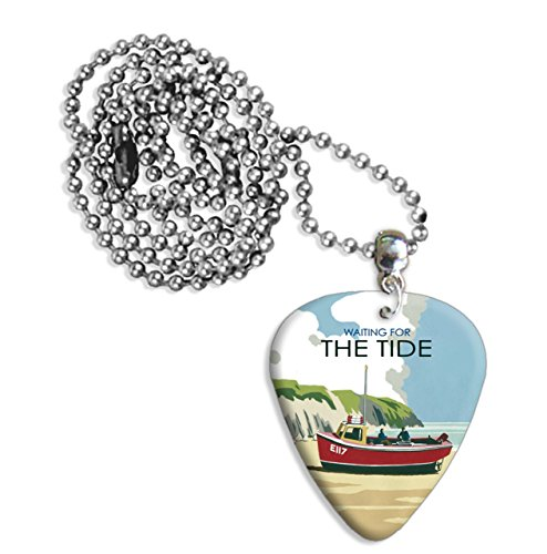 waiting-for-the-tide-boat-martin-wiscombe-pua-para-guitarra-collar-necklace-vintage-retro