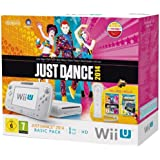 Wii U - Console 8 Gb, Bianco Con Barra Sensore, Just Dance 2014 E Nintendo Land [Bundle] [Importación Italiana]