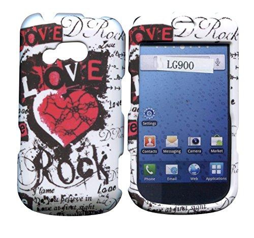rock-love-lg-900-g-gerade-talk-net-10-tracfone-schutzhulle-hard-case-snap-on-cover-gummierte-matte-o