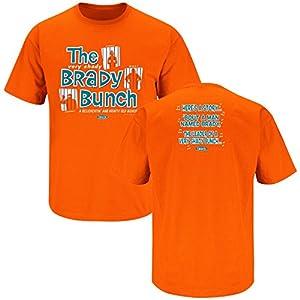 Miami Dolphins Fans. Brady Bunch Orange T-Shirt (S-5X)