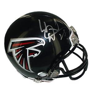 NFL Atlanta Falcons Warrick Dunn Autographed Mini Helmet by Steiner Sports