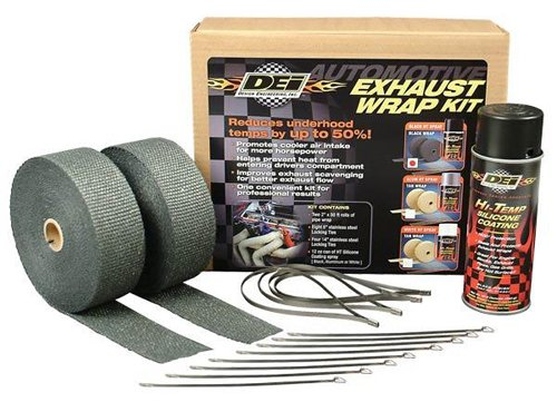 DEI 010110 Black HT Coating Exhaust Wrap Kit (C10 Exhaust Kit compare prices)