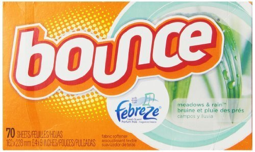 Bounce With Febreze Meadows & Rain Sheets, 70 Count (Pack of 3) by Bounce (Bounce Meadows And Rain compare prices)