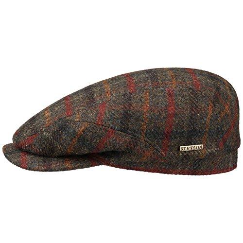 Belfast Wool Winter Coppola Stetson cappello piatto berretto piatto 60 cm - oliva