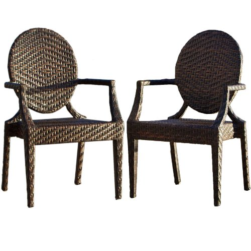 Townsgate Wicker Outdoor Chair (Set of 2) picture