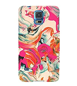 Colorful Abstract 3D Hard Polycarbonate Designer Back Case Cover for Samsung Galaxy S5 G900i :: Samsung Galaxy S5 i9600 :: Samsung Galaxy S5 G900F