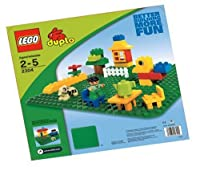 "LEGO Duplo Green Building Plate (15"" X 15"") by LEGO"