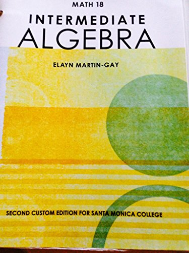 from Easton intermediate algebra martin gay 5th edition