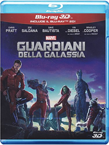 Guardiani Della Galassia (2D+3D) [3D Blu-ray] [IT Import]