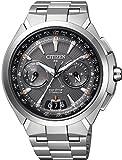 [シチズン]CITIZEN 腕時計 ATTESA アテッサ Eco-Drive SATELLITE-WAVE エコ・ドライブ 40タイムゾーン対応 サテライトウェーブダイレクトフライト針表示式 衛星電波受信 CC1080-56E メンズ