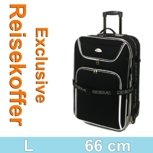 Schwarz 8006 Trolley Trolleys Koffer Reisekoffer