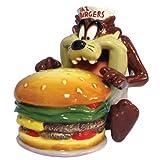 Westland Giftware Looney Tunes Magnetic Taz Eating Burger Salt and Pepper Shaker Set, 3-1/2-Inch