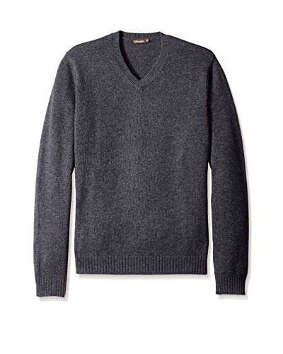 J. McLaughlin Men's Solid Milton High V-Neck Sweater