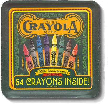 Crayola 90th Anniversary Tin with 64 Crayons