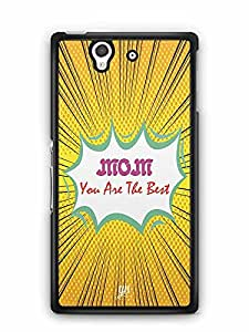YuBingo Mom, You're the Best Designer Mobile Case Back Cover for Sony Xperia Z