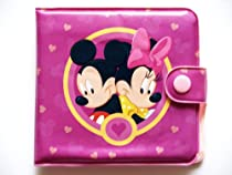 Disney Mickey and Minnie Purple Circle of Love Bi-fold Wallet