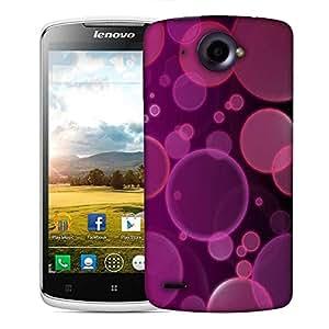 Snoogg bubbles design 2382 Designer Protective Back Case Cover For Lenovo S920