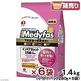 メディファス インドアキャット 15歳から 長寿猫用 チキン&フィッシュ味 1.4kg×6袋