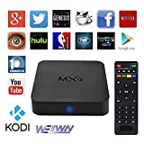 MXQ TV BOX Android 4.4 Amlogic S805 Quad Core 1G/8GB Kodi(15.2) Fully Loaded  Wifi,1080P,4k Streaming Media Player