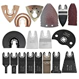 Quick change 66 pcs Oscillating multi Tool Saw Blades Accessories fit for Multimaster power tools as Fein,Black&Decker