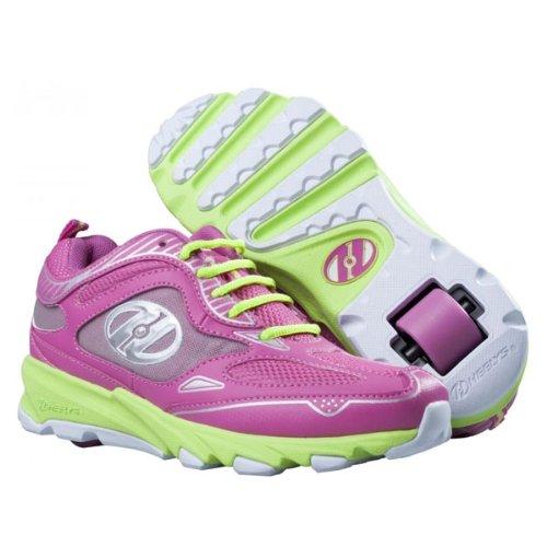 Heelys SWIFT Schuh 2014 pink/green/silver/white 38