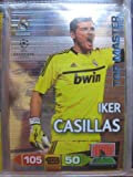 Iker Casillas Top Master Rare Card Panini Adrenalyn Champions League 2011 / 2012
