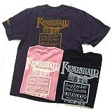 デラックスウエア DeluxeWare 6001 プリントTシャツ『KEMPSHALL』 サイズS オールドピンク