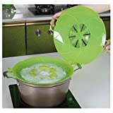 Jypc 1 X Boil Over Safeguard-Smart Kitchen Silicone Spill Pot Cover Stops Pots and Pans