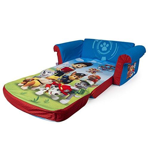 Marshmallow furniture children 39 s 2 in 1 flip open foam for Sillon cama amazon
