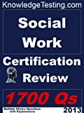 img - for Social Work Certification Review (Social Work Review Series) book / textbook / text book