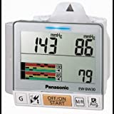 Panasonic EW-BW30S Wrist Blood Pressure Monitor with Trend Graph