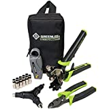 Greenlee Communications 4910 SealTite Pro Compression Cable TV F Kit Wi Th KT 8, LC CST, Flaring Tool, SealTite...