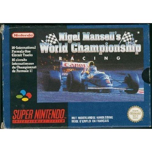 Nigel Mansell's World Championship Racing - SNES - PAL
