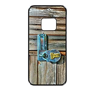 Vibhar printed case back cover for Samsung Galaxy S6 Edge WoodLock