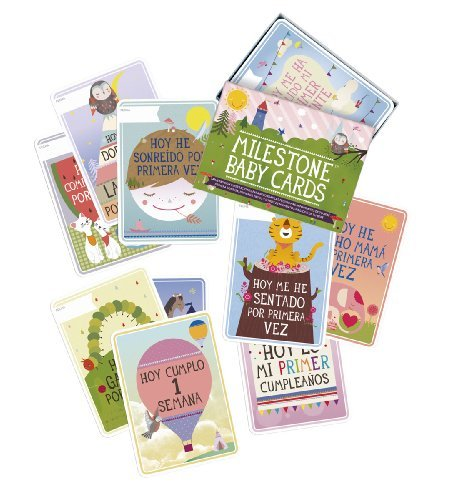 The Original Baby Cards by Milestone / Spanish Language Edition - The perfect BABY SHOWER GIFT