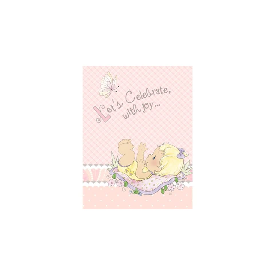 precious moments baby shower invitations baby girl baby shower