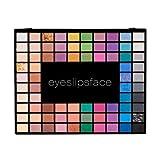 100 Piece Eyeshadow Palette, Marble, 3.17 Ounce /Makeup Applicator Marble /makeup kit expert grade