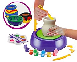 smiles creation Smile Creations Pottery Wheel (103, Multicolor)