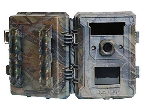 Bestok-M660-120-Wide-Angle-12MP-Digital-Infrared-Outdoor-Audio-Video-Waterproof-Wildlife-Cam-Scouting-Stealth-Trail-Hunting-Game-Spy-Security-Night-Vision-Game-Camera-4G-SD-Card
