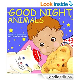 Good Night, Animals: Children's Picture Books